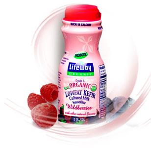 Probiotics in raw goat milk formula